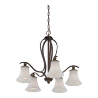 Quoizel Lighting Sophia 5 Light Chandelier in Palladian Bronze SPH5105PN