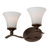 Quoizel Lighting Sophia 2 Light Bath Vanity in Palladian Bronze SPH8702PN alternative photo thumbnail