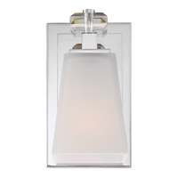 Quoizel Supreme 1 Light Bath Light in Polished Chrome SPR8601C