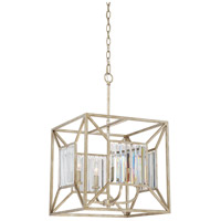 Quoizel SRA5204VG Sabrina 4 Light 16 inch Vintage Gold Foyer Chandelier Ceiling Light in B10 Candelabra Base