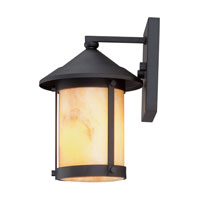 Quoizel Lighting Sutherland 1 Light Outdoor Wall Lantern in Mystic Black SRD8407K alternative photo thumbnail