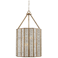 Quoizel SRE5206AGL Shrine 6 Light 20 inch Aged Gold Foyer Chandelier Ceiling Light