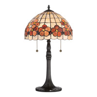 Sea Shell Captiva 23 inch 60 watt Vintage Bronze Table Lamp Portable Light
