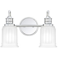 Swell 2 Light 14 inch Polished Chrome Vanity Light Wall Light