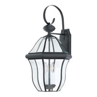 Quoizel Lighting Sussex 3 Light Outdoor Wall Lantern in Mystic Black SX8413K alternative photo thumbnail