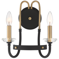 Quoizel TAN8712WT Tanner 2 Light 12 inch Western Bronze Wall Sconce Wall Light