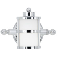 Tranquil Bay 1 Light 9 inch Polished Chrome Bath Light Wall Light