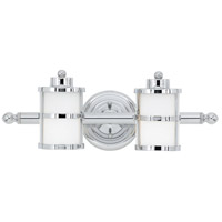Quoizel Tranquil Bay 2 Light Bath Light in Polished Chrome TB8602C