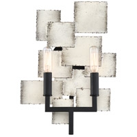 Quoizel TCE8702OS Torrance 2 Light 10 inch Old Silver Wall Sconce Wall Light