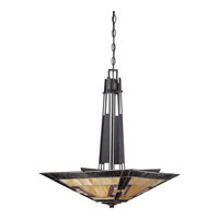 Quoizel Lighting Kennedy 3 Light Pendant in Imperial Bronze TF1177CIB alternative photo thumbnail