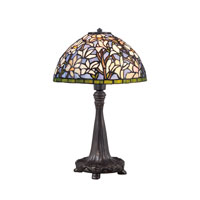 Quoizel Lighting Tiffany 1 Light Table Lamp in Imperial Bronze TF1607TIB