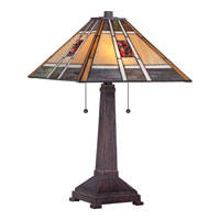 Quoizel Lighting Tiffany 2 Light Table Lamp TF1671T