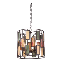 Quoizel Tiffany 4 Light Pendant in Imperial Bronze TF1783CIB