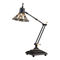 Quoizel Tiffany LED Table Lamp in Medici Bronze TF1860TZ