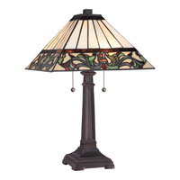Quoizel Tiffany 2 Light Table Lamp TF1871T