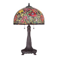 Quoizel Tiffany 2 Light Table Lamp TF1872T