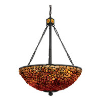 Quoizel Lighting Pomez 3 Light Pendant in Vintage Bronze TF2819VB