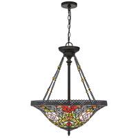 Quoizel TF5198VB Alyssa 3 Light 22 inch Vintage Bronze Pendant Ceiling Light