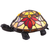 Quoizel TF5206VB Rowan 4 inch 3 watt Vintage Bronze Accent Lamp Portable Light Turtle