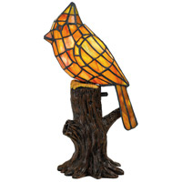 Quoizel TF5217R Cardinal 13 inch 7 watt Architectural Bronze Accent Lamp Portable Light Bird