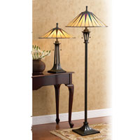Quoizel Lighting Gotham 2 Light Table Lamp in Vintage Bronze TF6668VB alternative photo thumbnail