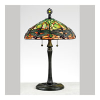 Quoizel Lighting Tiffany 2 Light Table Lamp in Vintage Bronze TF6784VB