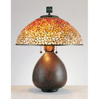 Quoizel Lighting Pomez 2 Light Table Lamp in Cinnamon TF6825CN