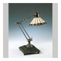 Quoizel Lighting Tiffany 1 Light Table Lamp in Medici Bronze TF7110Z