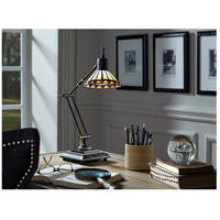 Quoizel Lighting Tiffany 1 Light Table Lamp in Medici Bronze TF7110Z alternative photo thumbnail