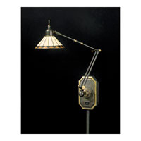 Quoizel Lighting Tiffany 1 Light Swing Arm Wall Light in Medici Bronze TF8156Z alternative photo thumbnail