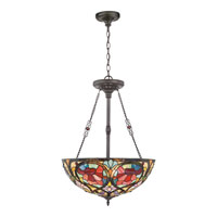 Quoizel Lighting Larissa 3 Light Pendant in Vintage Bronze TF879CVB