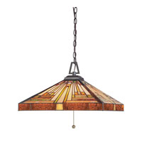 Quoizel Lighting Stephen 3 Light Pendant in Vintage Bronze TF885CVB