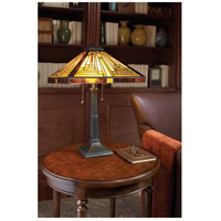Quoizel TF885T Stephen 23 inch 75 watt Vintage Bronze Table Lamp Portable Light alternative photo thumbnail