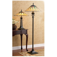 Quoizel Gotham 2 Light Floor Lamp in Vintage Bronze TF9397VB alternative photo thumbnail