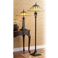 Quoizel Lighting Gotham 1 Light Torchiere in Vintage Bronze TF9398VB alternative photo thumbnail
