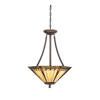 Quoizel Lighting Arden 3 Light Pendant in Russet TFAN2818RS