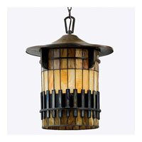 Quoizel Lighting Autumn Ridge 1 Light Outdoor Hanging Lantern in Bergamo TFAR1915BE