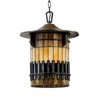 Quoizel Lighting Autumn Ridge 1 Light Outdoor Hanging Lantern in Bergamo TFAR1915BEFL