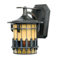 Quoizel Lighting Autumn Ridge 1 Light Outdoor Wall Lantern in Bergamo TFAR8407BE