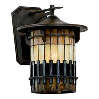 Quoizel Lighting Autumn Ridge 1 Light Outdoor Wall Lantern in Bergamo TFAR8409BE alternative photo thumbnail