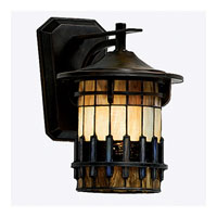 Quoizel Lighting Autumn Ridge 1 Light Outdoor Wall Lantern in Bergamo TFAR8409BE photo thumbnail