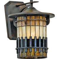 Quoizel Lighting Autumn Ridge 1 Light Outdoor Wall Lantern in Bergamo TFAR8409BEFL