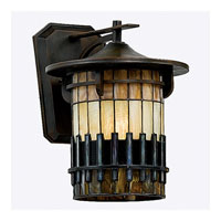 Quoizel Lighting Autumn Ridge 1 Light Outdoor Wall Lantern in Bergamo TFAR8412BE photo thumbnail