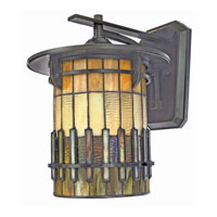 Quoizel Lighting Autumn Ridge 1 Light Outdoor Wall Lantern in Bergamo TFAR8412BE alternative photo thumbnail