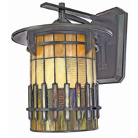 Quoizel Lighting Autumn Ridge 1 Light Outdoor Wall Lantern in Bergamo TFAR8412BEFL