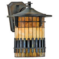 Quoizel Lighting Autumn Ridge 1 Light Outdoor Wall Lantern in Bergamo TFAR8415BEFL