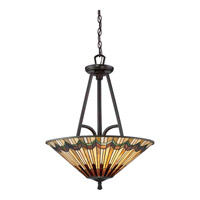 Alcott 3 Light 22 inch Valiant Bronze Pendant Ceiling Light in A19 Medium Base