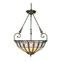 Quoizel Lighting Ava 3 Light Pendant in Vintage Bronze TFAV2823VB