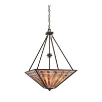 Quoizel Lighting Banks 4 Light Pendant in Indio Bronze TFBK2820IO photo thumbnail