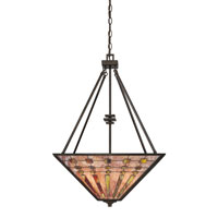 Quoizel Lighting Banks 4 Light Pendant in Indio Bronze TFBK2820IO alternative photo thumbnail